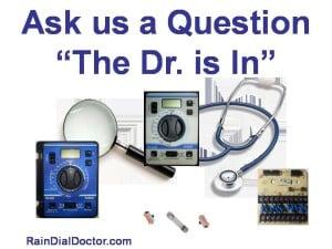 Irritrol Questions on programming, troubleshooting, repair