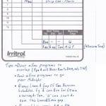 Irritrol Rain Dial Sprinkler Controller Programming Guide - Example and Programming Tips