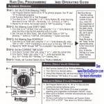 Irritrol Rain Dial Sprinkler Controller Programming Guide - Overview